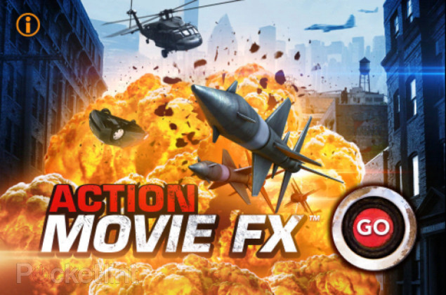 Iphine Action Movie FX App