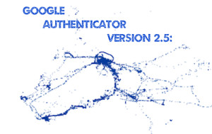 Google Authenticator Version 2.5