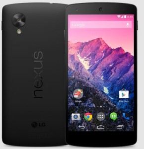 the best smartphone in india Google  Nexus 5