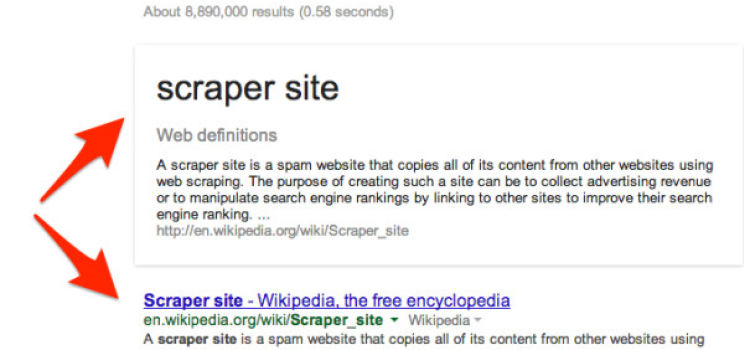 Tweet Calling Google A Scraper Website Goes Viral