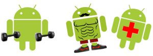 Fitness based data android