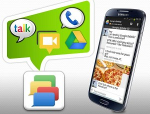 Hangouts, Talk and Messenger
