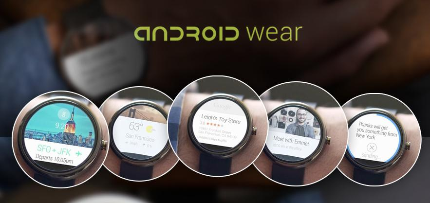 Features of Android Wear Smartwatches