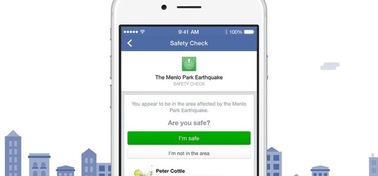 "Let Others Know about Your Safety with Facebook's ""Safety Check"""