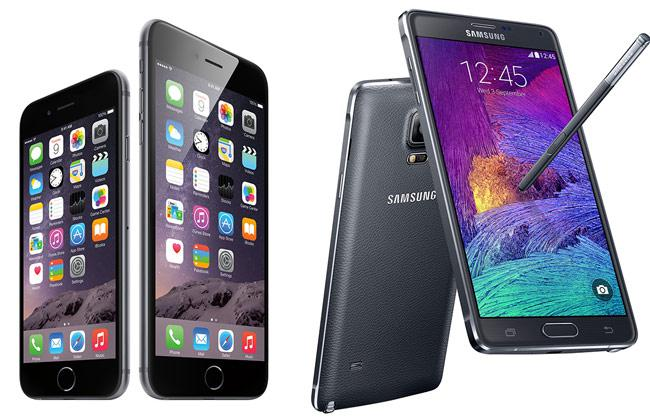 Samsung Galaxy Note 4 Is More Expensive Than Apple's iPhone 6. 1