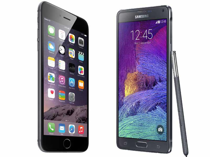 Samsung Galaxy Note 4 Is More Expensive Than Apple's iPhone 6