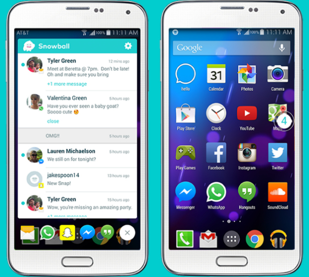 Popular Android Apps For 2014-2015 Snowball app