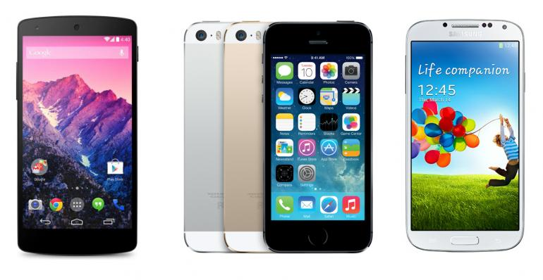 iPhone5s or GalaxyS4 and Google Nexus5 Which one is best