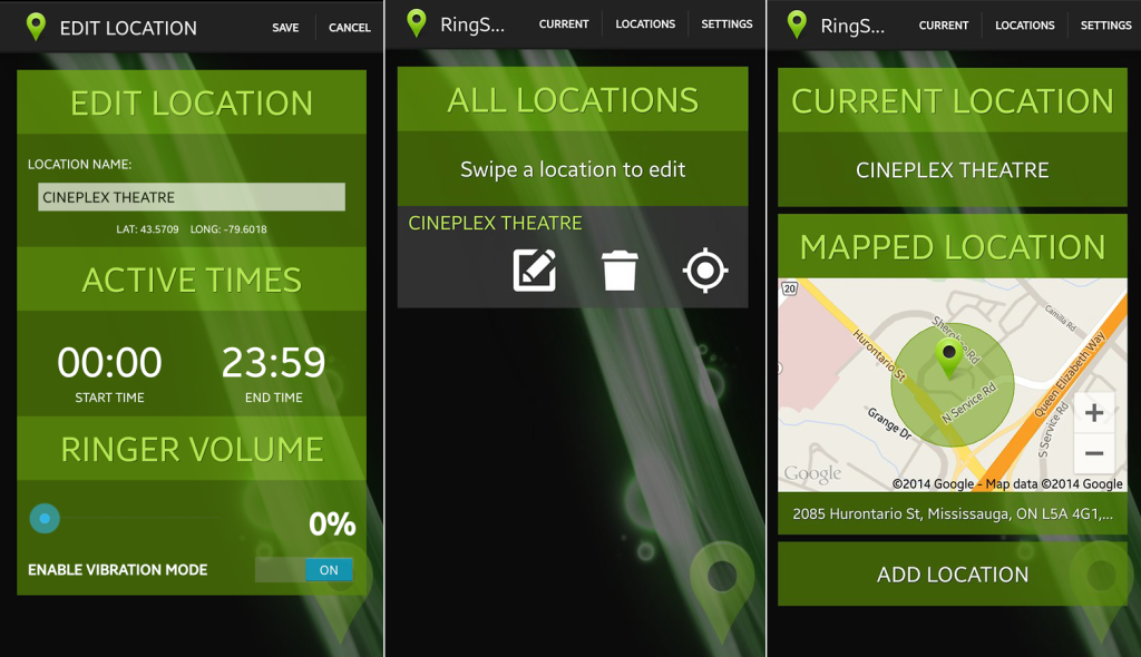Popular Android Apps For 2014-2015 ring smart app
