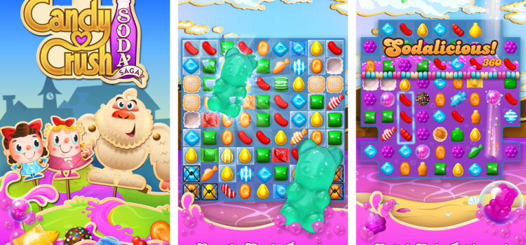 Download new version of Candy Crush (Candy Crush Soda)