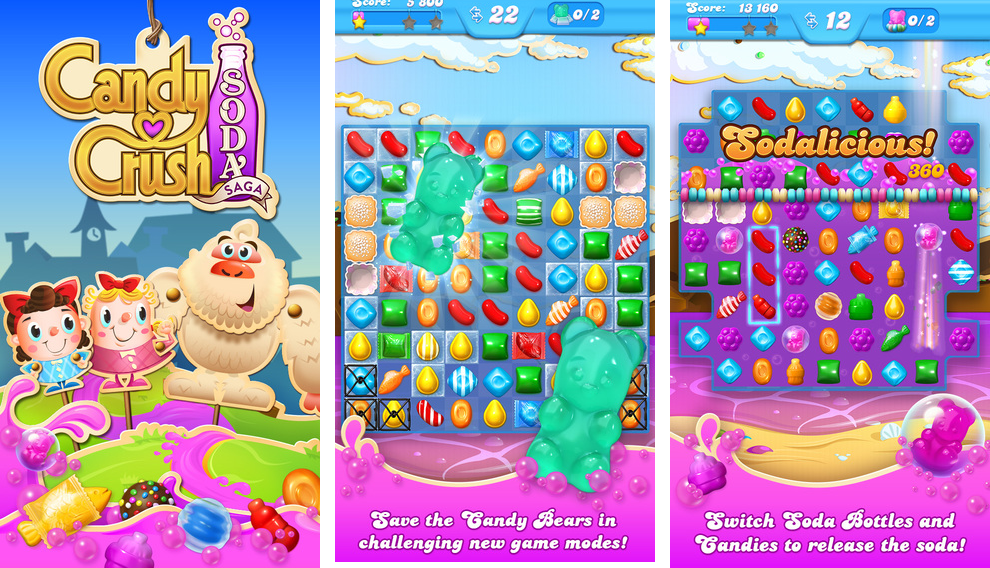 new version of Candy Crush
