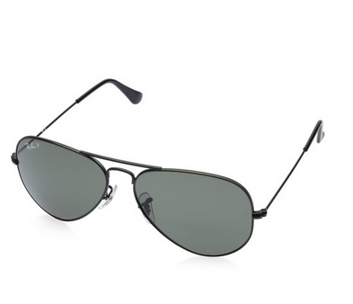 Ray-Ban Aviator Sunglasses (Black)