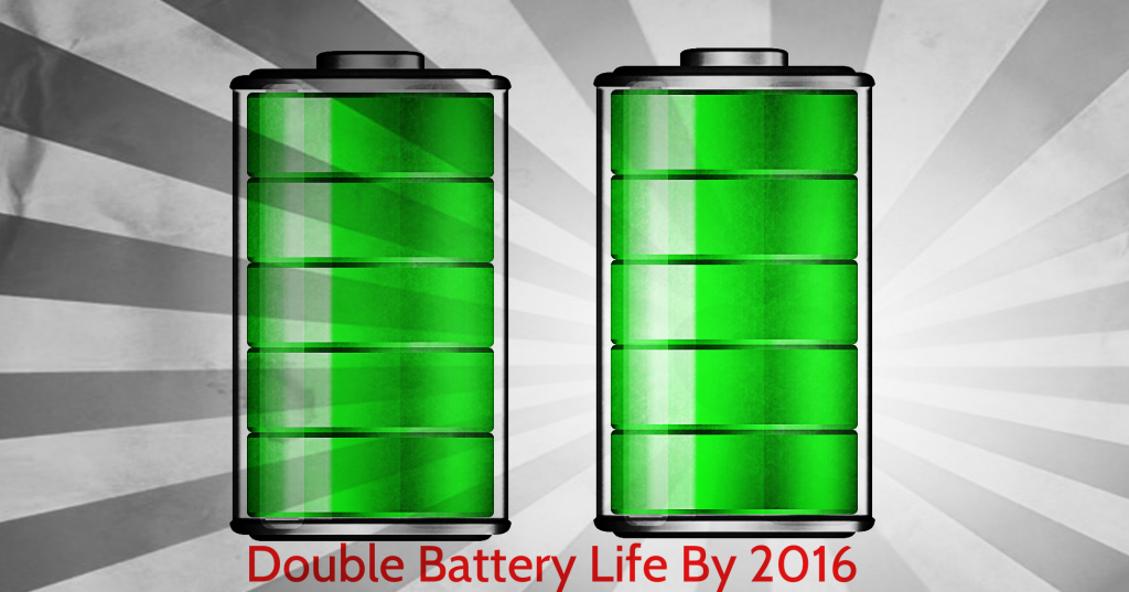 New battery technology trend 2016