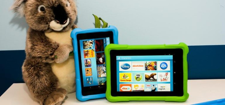 All new Fire HD – First Kids Edition Tab