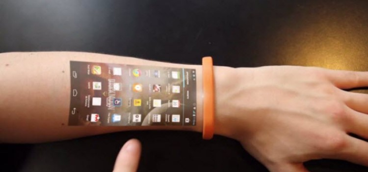 Imagine Smartphone on your Wrist – Introducing Cicret Bracelet