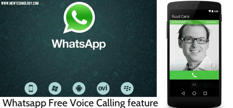 Spotted : Whatsapp Tested the New Free Voice Calling Feature