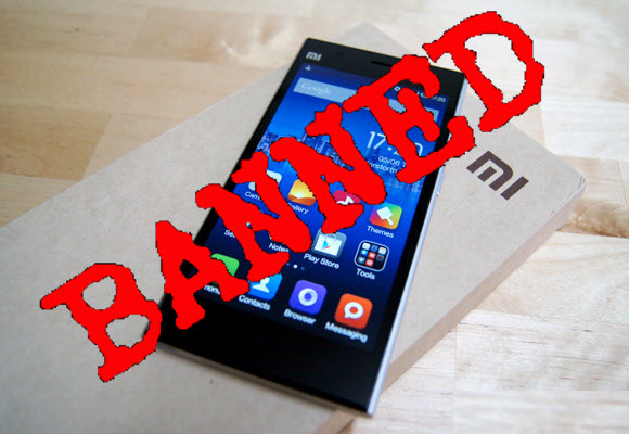 Xiaomi's Banned