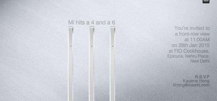 XIAOMI IS READY TO LAUNCH ITS MI4 TOMORROW IN INDIA