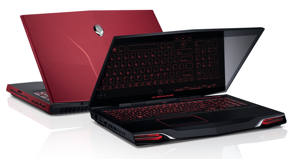 New Alienware Gaming Laptops