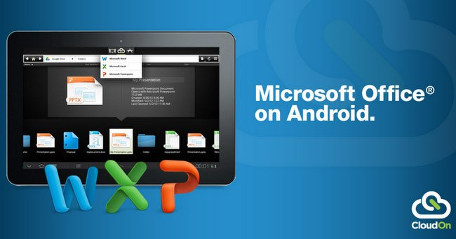 Office Available on Android Tablets