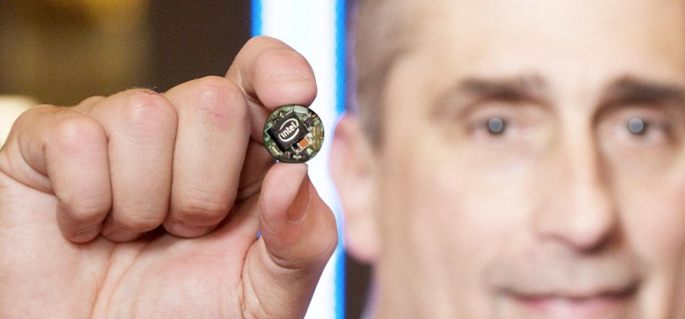 Intel Button Sized Chipset Provides a New Brain to Wearable Technology