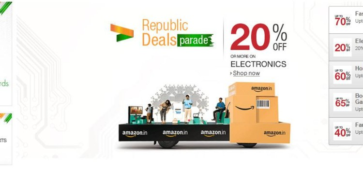 Amazon Republic Deals Parade