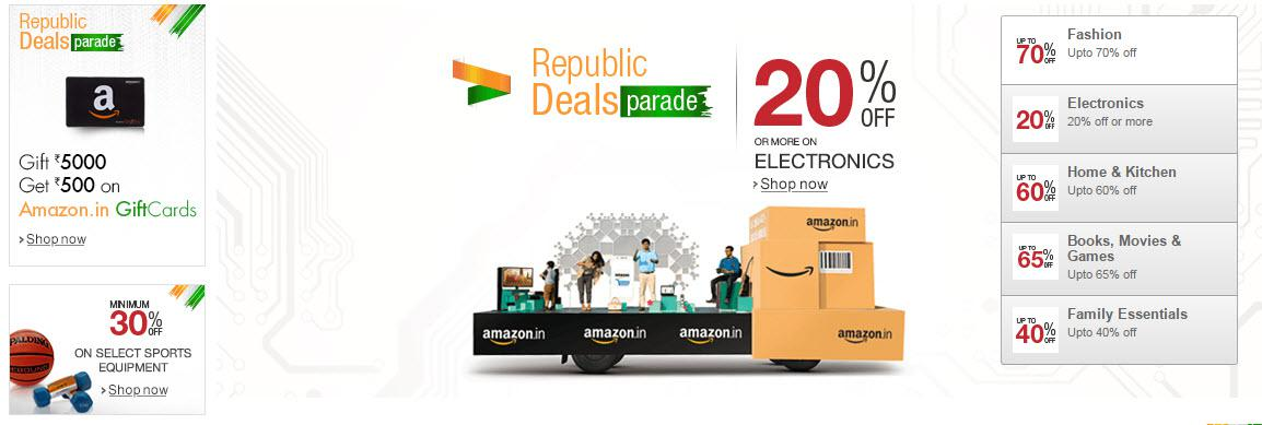 Republic Deals Parade