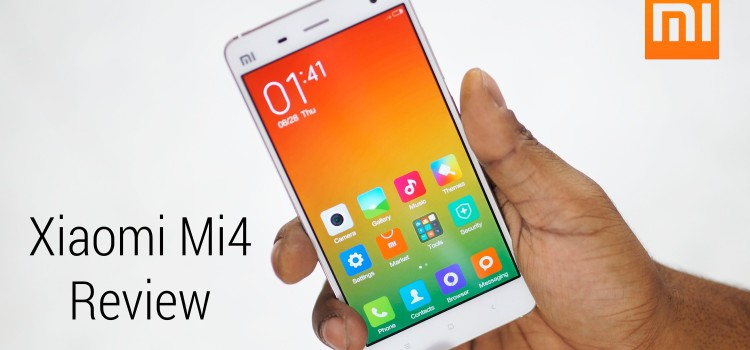 XIAOMI LAUNCHED ITS MI4 IN INDIA WITH ITS LATEST OS MIUI6