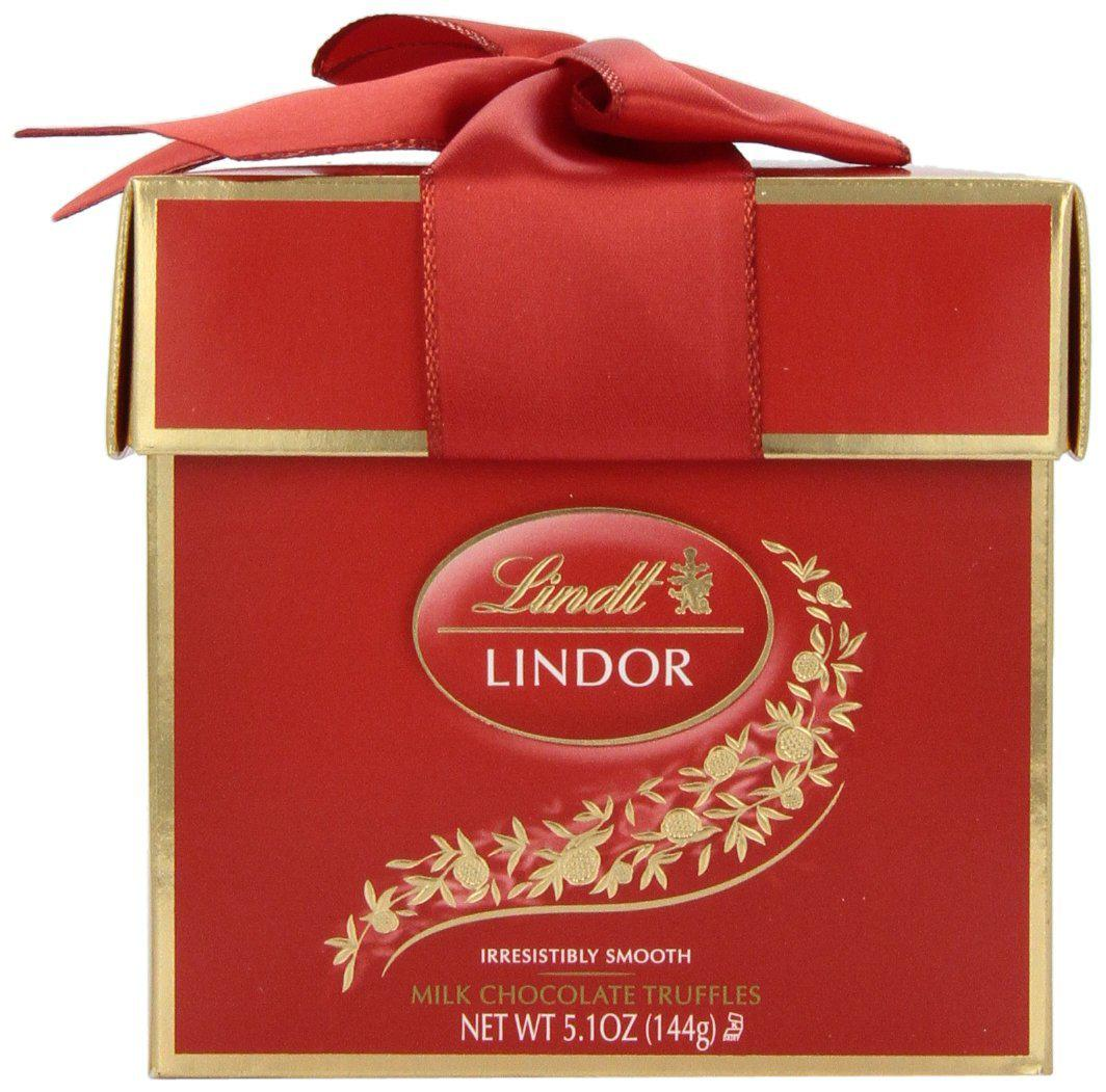 Lindt Lindor Truffles, Milk Chocolate Token Gift Box
