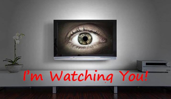 Samsung's SmartTV - I'm Watching You!