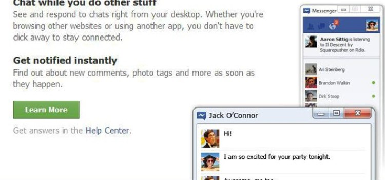 Facebook Messenger for Desktop Launched!