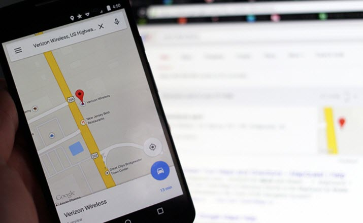 Send Directions to Your Android Smartphone from Desktop with Google Maps