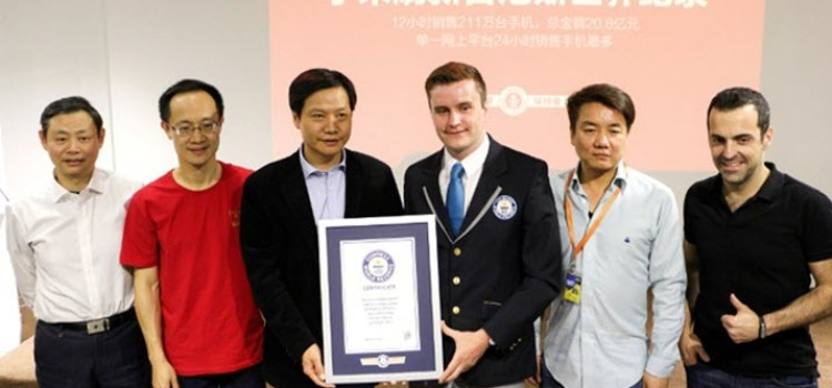 Xiaomi Gets a Place in Guinness World Records for Selling 2.11 Million Smartphones in Just 12 Hours