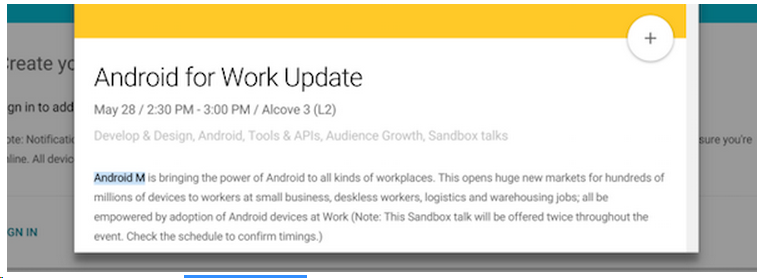 Android for Work Update