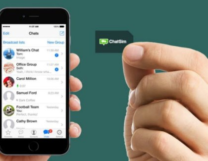 Introducing ChatSIM – The World's First SIM Card for VOIP Calls Made from Instant Messaging Apps