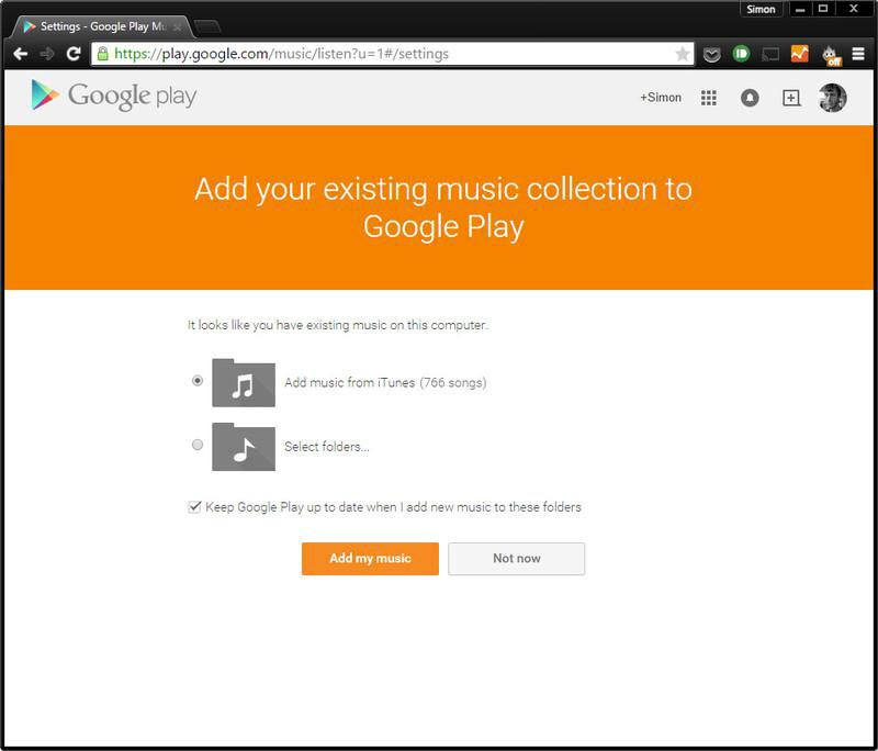 How to transfer iTunes library to Android phone with Google Play Music