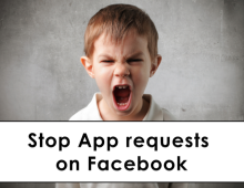 How to Stop App requests on Facebook