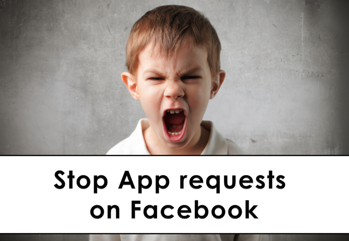 Stop App requests on Facebook