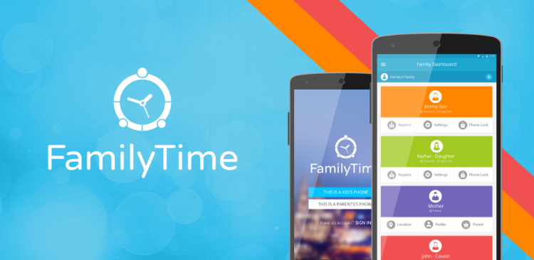 FamilyTime - Family Tracking App