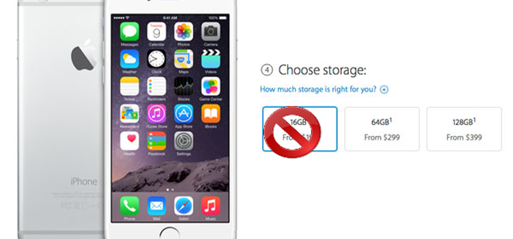 Is Apple Finally Letting Go of the 16 GB iPhone?