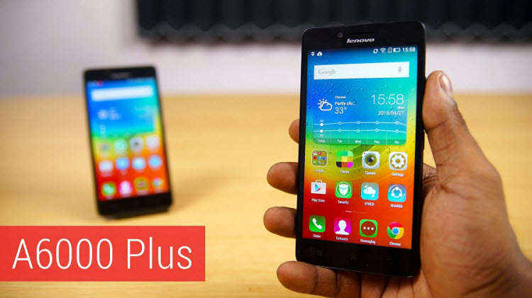 LENOVO A6000 PLUS - TOP FOUR PHONES