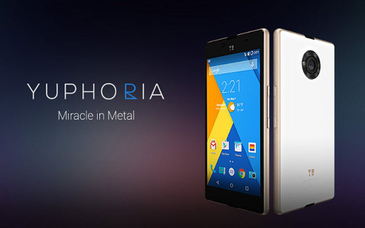 MICROMAX YU YUPHORIA - TOP FOUR PHONES