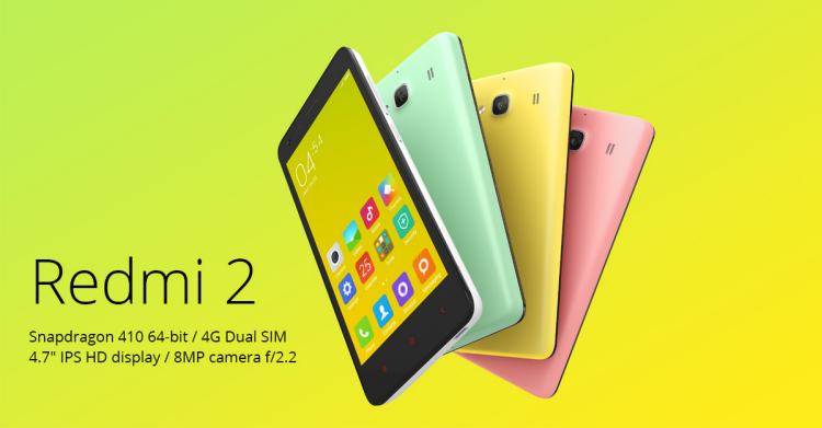 XIAOMI REDMI 2 PRIME(DUAL SIM) - TOP FOUR PHONES