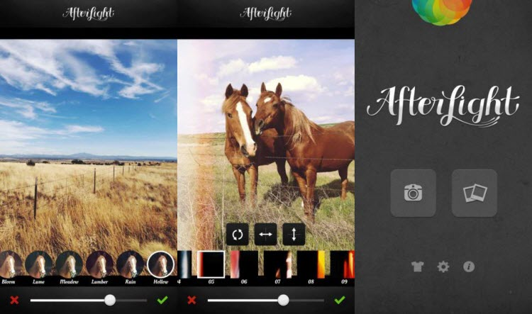 Afterlight - Photo Editing Apps