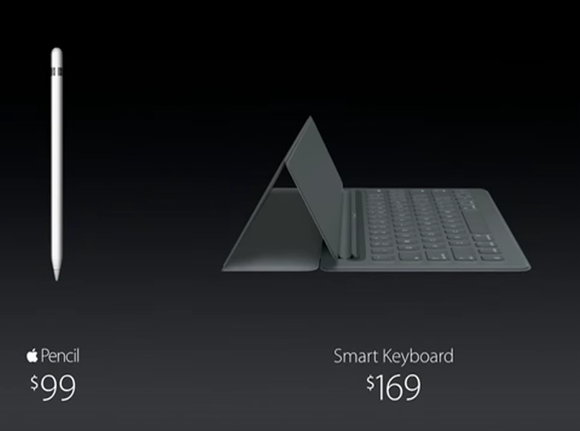 Apple 'Smart Keyboard' & 'Pencil'