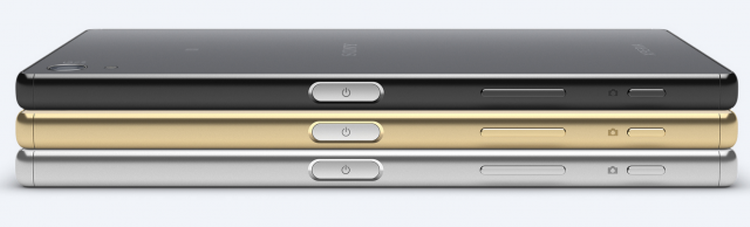 Sony Xperia Z5 Three Vibrant Colours - Chrome, Gold & Black