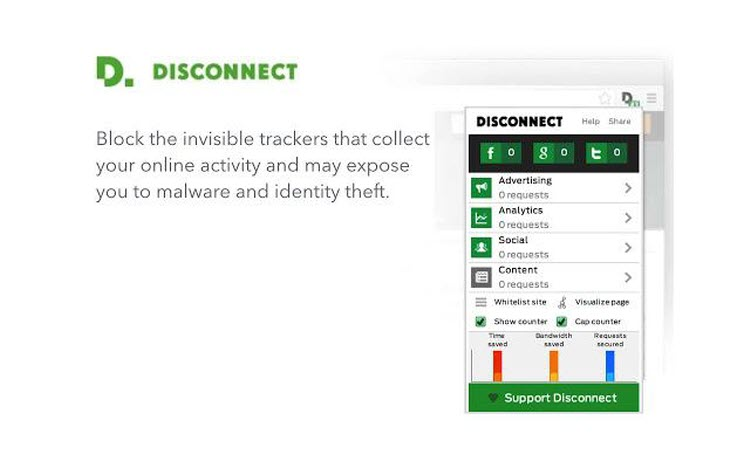 Disconnect - Google Chrome Extensions