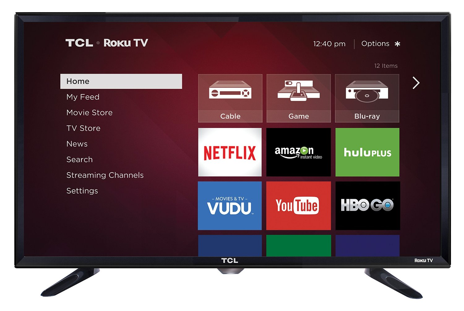 TCL 28S3750 28 Inch 720p Roku Smart LED TV