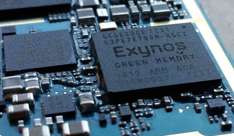 Enhanced Performance with Exynos Chip Set and Increased RAM
