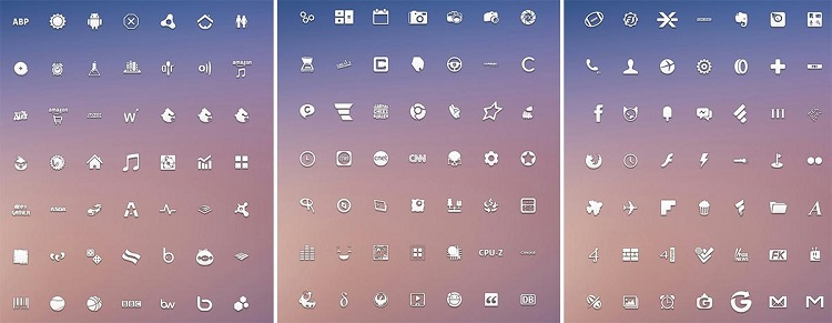 Min Icon Pack - Icon Packs